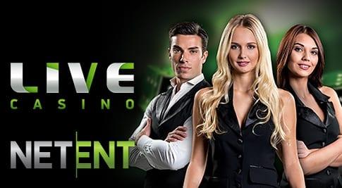 NetEnt Live: Spela valfria live casino spel från NetEnt och tävla om 250.000kr