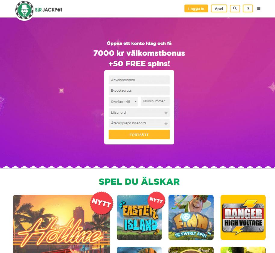 mobil casino utan omsättningskrav