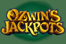 ozwins jackpots logo