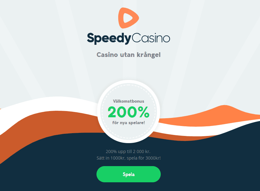 Speedycasin bonus