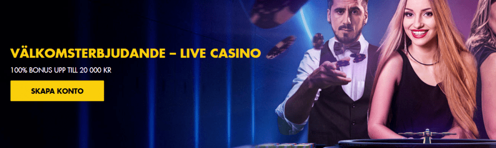Bethard live casino bonus