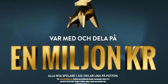 Va med och dela på 1 miljon kronor i juli – Alla nya kunder får en del!