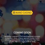 Ninja är tillbaka som Nano casino – lanseras inom kort av Global Gaminmg och Finnplay
