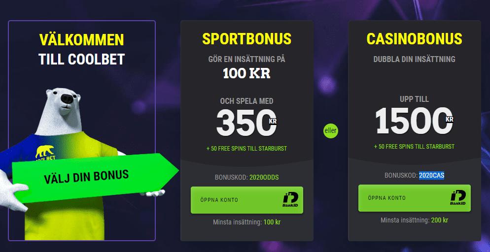 Coolbet bonus 2020
