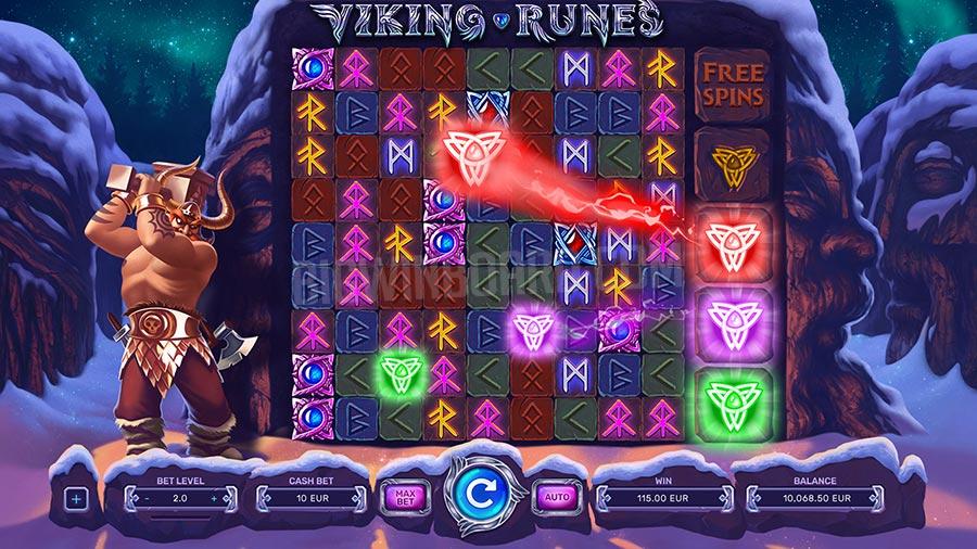 Melihat slot Rune