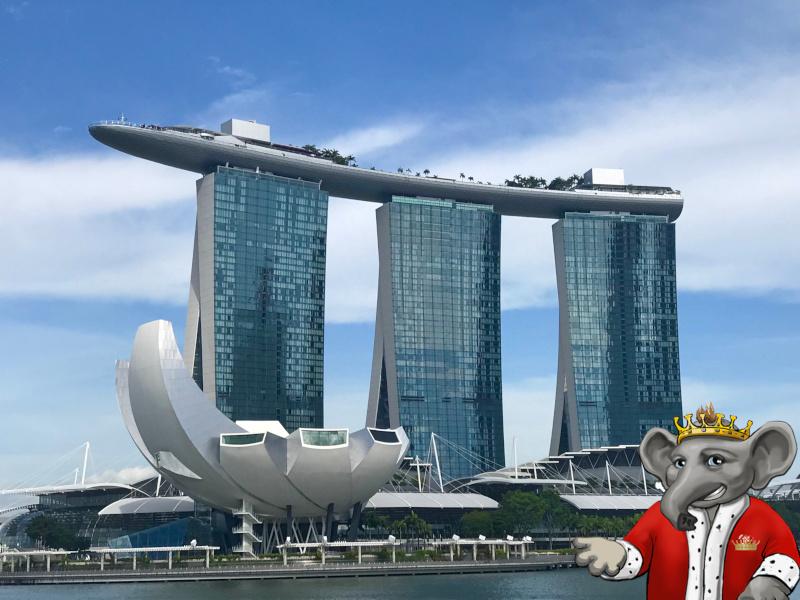 Casinopro Kalle besöker Marina Bay casino